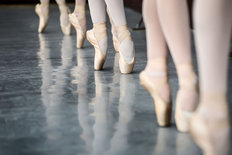 On Pointe Mural Wallpaper
