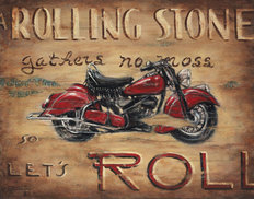 Let's Roll Wallpaper Mural