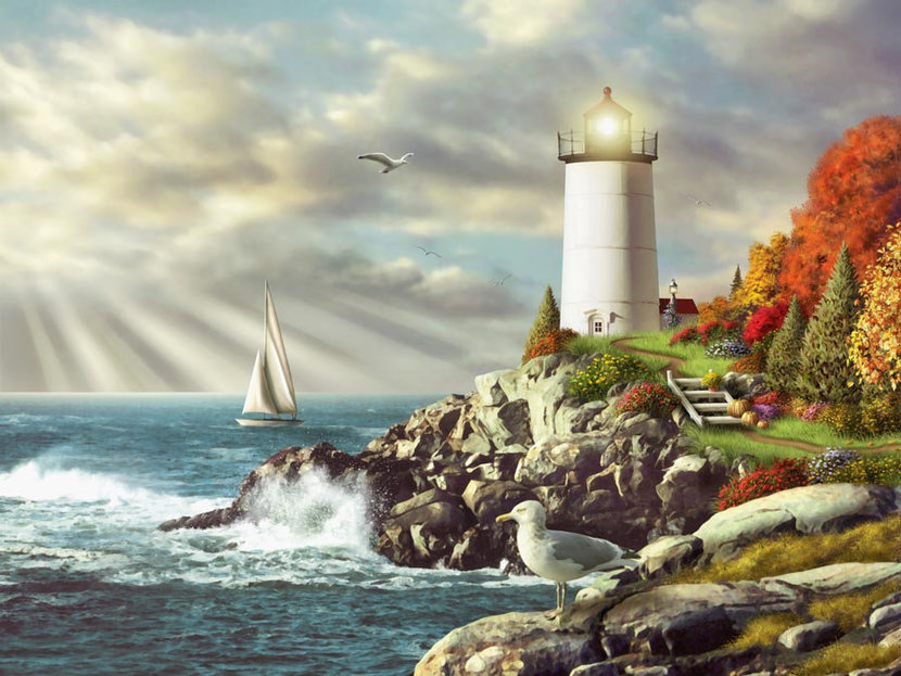 Light Of Day Wall Mural