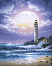 Lighthouse Of Dreams Wall Mural