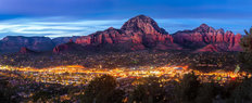 Lights Of Sedona Wall Mural
