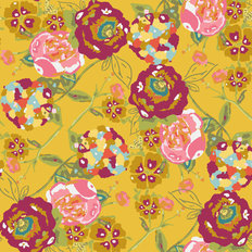 LillyBelle - Garden Rocket Ruby Wallpaper