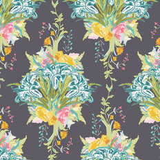LillyBelle - Lily Bouquet Dark Wallpaper