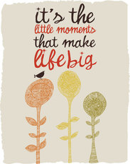 Little Moments Wall Mural