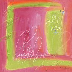 Live, Laugh, Love Wall Mural