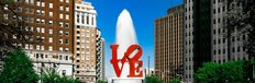 Love Park, Philadelphia, Pennsylvania Wall Mural