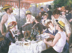 Luncheon Of The Boating Party Wall Mural