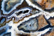 Macro Photo Of The Texture Of Agate Wallpaper Mural