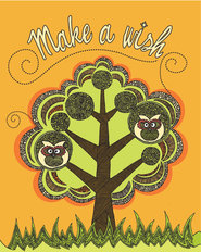 Make A Wish Tree Mural Wallpaper