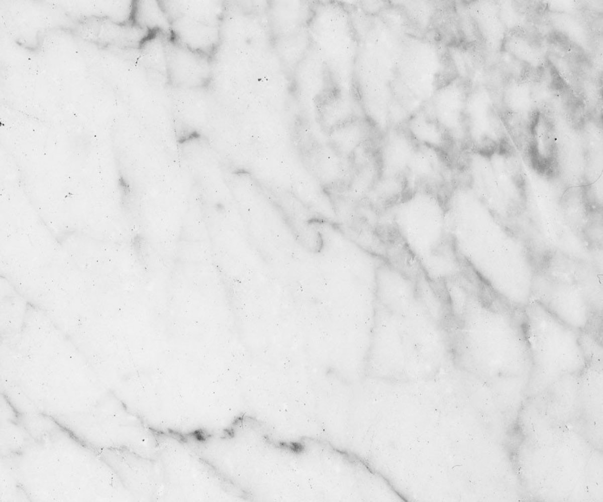 White Marble With Light Grey Veins Mural Wallpaper