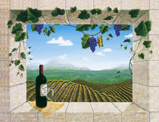 Mariposa Vineyards Wallpaper Mural