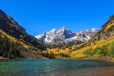 Maroon Bells White River National Forest Colorado Wallpaper Mural