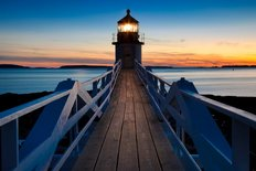 Marshall Point Lighthouse Wall Mural