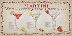 Martini's Collection Mural Wallpaper