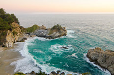 McWay Falls At Julia Pfeiffer State Park Wallpaper Mural