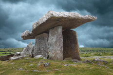 Megalithic Tomb, Ireland Mural Wallpaper