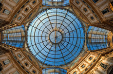 Milan Galleria Ceiling Wallpaper Mural