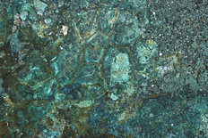 Mineral Textures Of Copper Mines Wall Mural