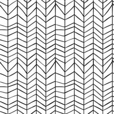 Modern Line Pattern Wallpaper