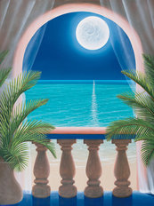 Moonlit Interlude Wall Mural