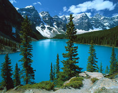 Moraine Lake, Banff National Park, Alberta Canada 2 Wallpaper Mural