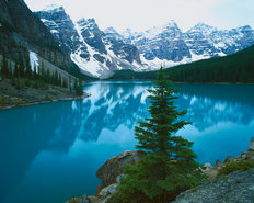 Moraine Lake, Banff National Park, Alberta Canada Wall Mural