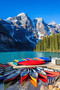 Moraine Lake Morning Wall Mural