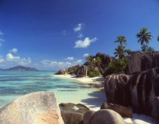 Most Famous Beach Of The Seychelles Mural Wallpaper