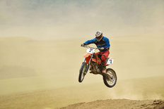Motocross Bike Race Mural Wallpaper