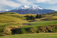 Mount Ruapehu Mural Wallpaper