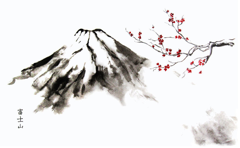 Mountain-Fuji-And-Cherry-Blossom-Oriental-Ink-Wall-Mural.jpg