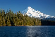 Mt Hood And Lost Lake Wall Mural