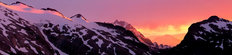 Mt Ruth & Mt Shuksan At Sunset Wall Mural