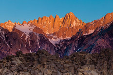 Mt Whitney, Eastern Sierras Wallpaper Mural