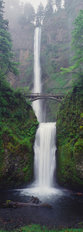 Multnomah Falls, Columbia River Gorge, Oregon 2 Mural Wallpaper