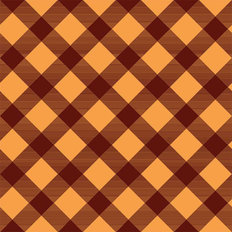Mustard Plaid Pattern Wallpaper
