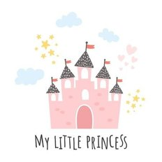 My Little Princess Wall Mural