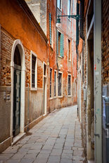 Narrow Street in Venice Wallpaper Mural