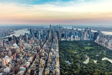 New York, Central Park Wallpaper Mural
