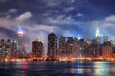 New York City Midtown Manhattan Wallpaper Mural