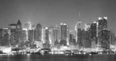 New York City Manhattan Midtown Skyline Wall Mural