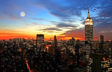 New York City Midtown Skyline Wallpaper Mural