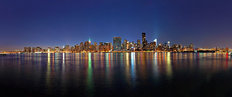 New York City Panorama - From Queens Wallpaper Mural