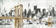 New York Skyline I Wall Mural