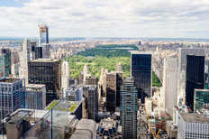 New York Skyline and Central Park Wall Mural