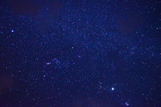 Night Sky With Stars Mural Wallpaper