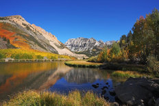North Lake Mountains Mural Wallpaper