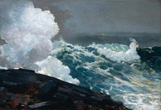 Northeaster, 1895 Wall Mural
