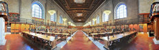 NY Public Library - Panorama Wallpaper Mural
