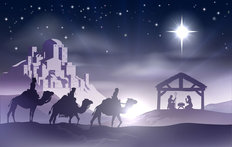 O Holy Night Wallpaper Mural